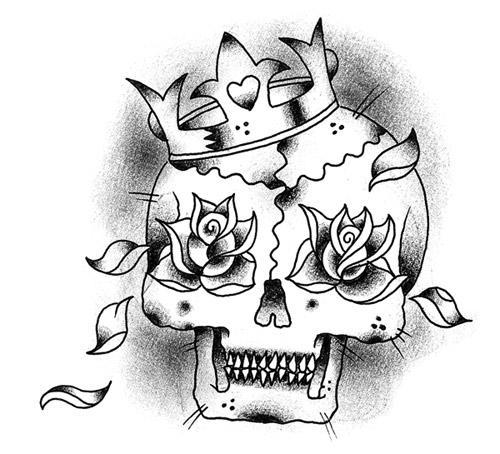 Teschi tattoo gallery disegni for Teschi da disegnare