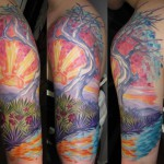 tree tattoo2 150x150 Tattoo Artist gallery<br>Osa Wahn