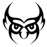 tribal howl tattoo 150x150 Tattoo flash   Tribal animals