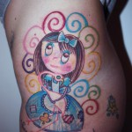 alice tattoo