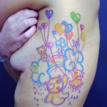 bears and baloons tattoo