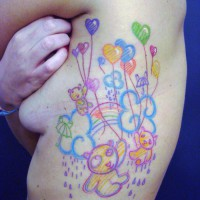 bears and baloons tattoo 200x200 Tattoo Artist Gallery: Morof