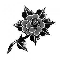black rose tattoo 250x250 Disegni Tattoo   Rose