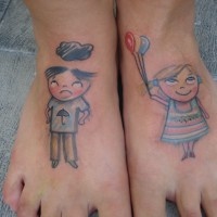 children tattoo