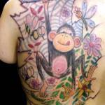 monkey tattoo 150x150 Tattoo Artist Gallery: Morof