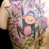 monkey tattoo 200x200 Tattoo Artist Gallery: Morof