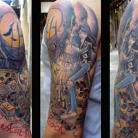 ramones tattoo 200x200 Tattoo Artist Gallery: Morof