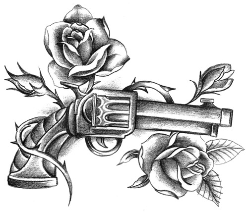 Tattoo Flash Gallery Rose