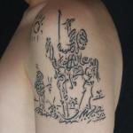 Don Quijote tattoo 150x150 Tattoo Artist Gallery: Emre Cebeci