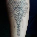 Elephant tattoo 150x150 Tattoo Artist Gallery: Emre Cebeci