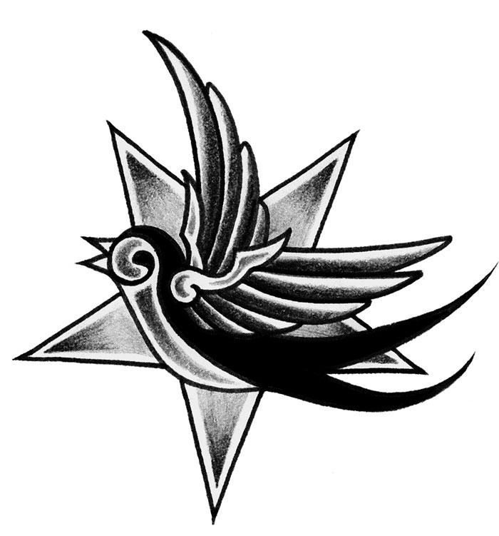 Estremamente Il tatuaggio della rondine - Gallery Disegni   IdeaTattoo TA36