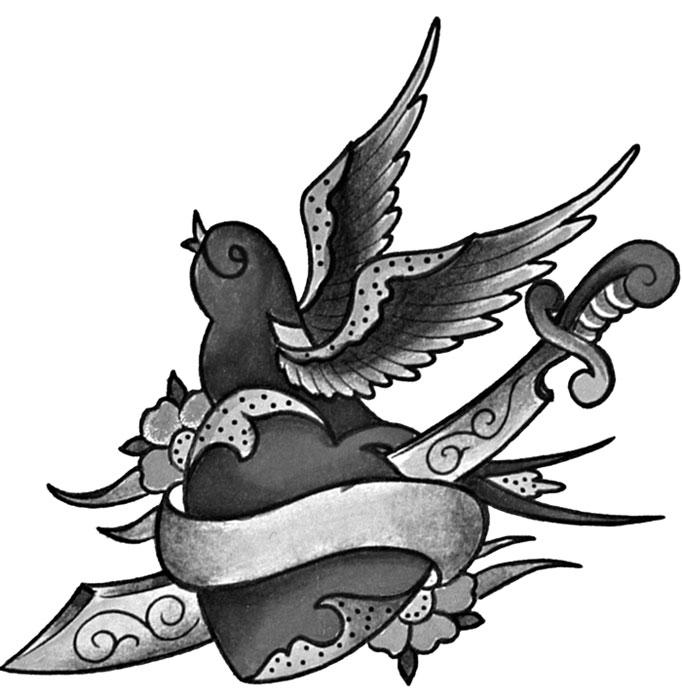 spesso Il tatuaggio della rondine - Gallery Disegni   IdeaTattoo DS29