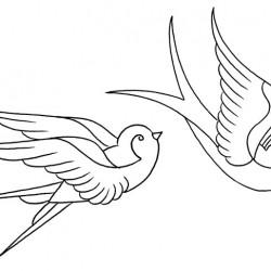 Traditional Swallow sketch tattoo 250x250 Disegni tattoo   Rondini
