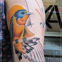 bird2 tattoo 200x200 Tattoo Artist Gallery: Jessica Mach