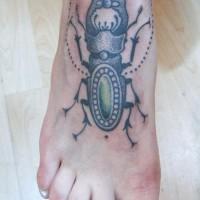 stag beetle tattoo 200x200 Tattoo Artist Gallery: Jessica Mach