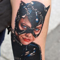 catwoman tattoo 200x200 Tattoo Artist Gallery: Michele Turco