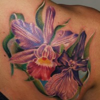 flowers tattoo 200x200 Tattoo Artist Gallery: Michele Turco