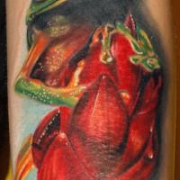 frog tattoo 200x200 Tattoo Artist Gallery: Michele Turco