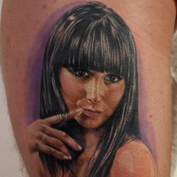 girl tattoo 200x200 Tattoo Artist Gallery: Michele Turco