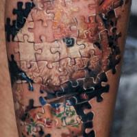 puzzle tattoo 200x200 Tattoo Artist Gallery: Michele Turco