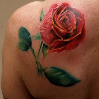rose tattoo 200x200 Tattoo Artist Gallery: Michele Turco