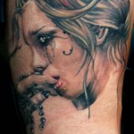woman tattoo 150x150 Tattoo artist Gallery: Michele Turco