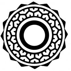 Maori and Polynesian elbow tattoo