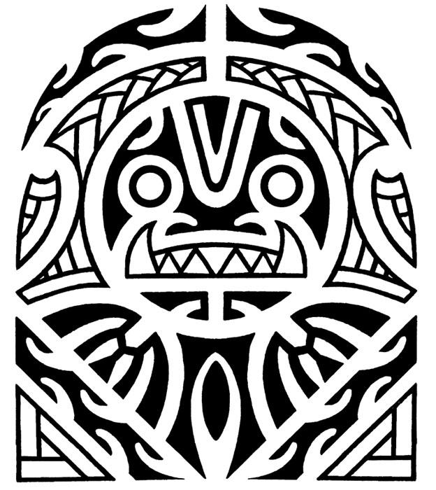 Polynesian Tiki Tattoo Designs: Maori Tattoo Designs, Photo Gallery And Video!