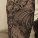 baby tattoo 150x150 Tattoo Artist Gallery: Amanda Ruby