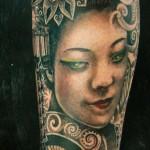 geisha tattoo 150x150 Tattoo Artist Gallery: Amanda Ruby