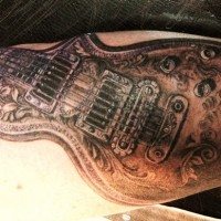guitar tattoo 200x200 Tattoo Artist Gallery: Amanda Ruby