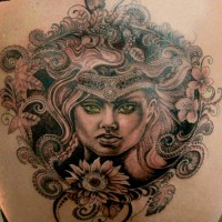 woman2 tattoo 200x200 Tattoo Artist Gallery: Amanda Ruby