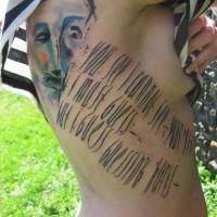 lettering tattoo 200x200 Tattoo Artist Gallery: Ondrash