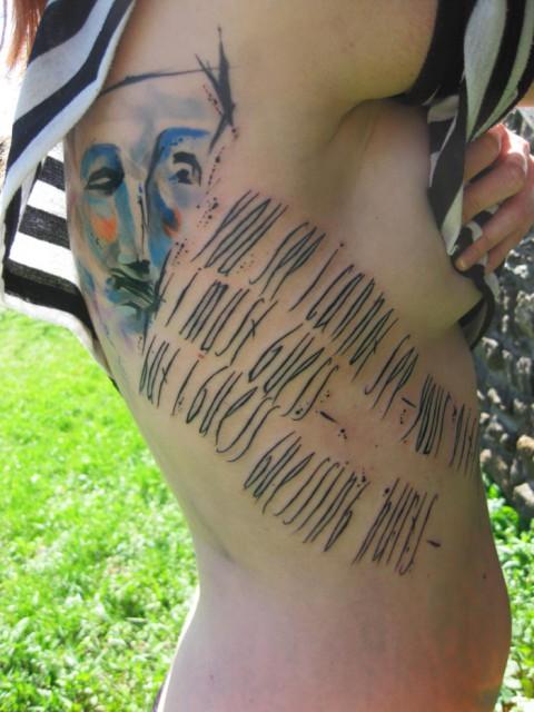 lettering tattoo 480x640 lettering tattoo