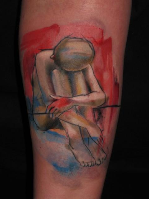 loneliness tattoo 480x640 loneliness tattoo