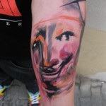 mask tattoo 150x150 Tattoo artist Gallery: Ondrash