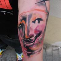 mask tattoo