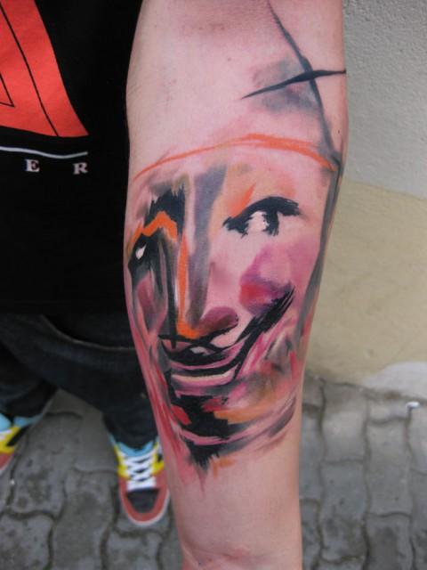 mask tattoo 480x640 mask tattoo