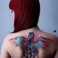 pegasus tattoo 200x200 Tattoo Artist Gallery: Ondrash