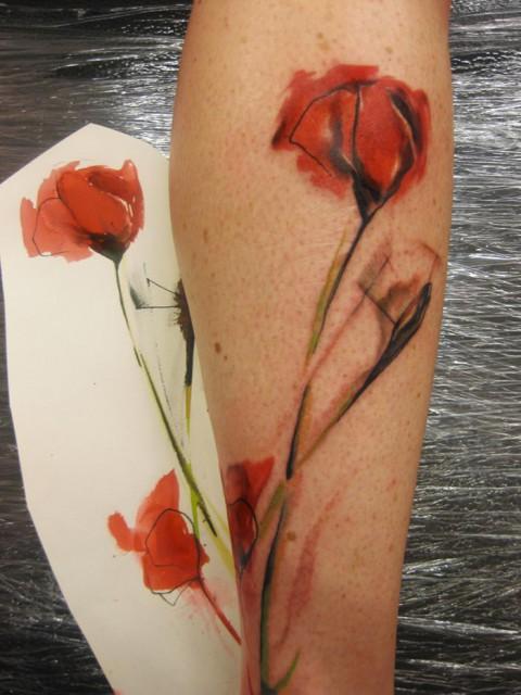 poppy tattoo 480x640 poppy tattoo