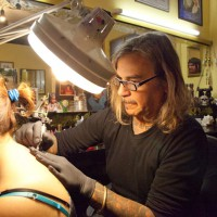 butterfly tattoo Leoni at work 200x200 Tattoo Artist gallery: Marco Leoni