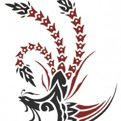 01 asiatic style phoenix tattoo 250x250 Disegni tattoo   La Fenice