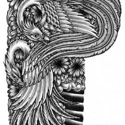 large-japanese-phoenix-tattoo