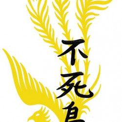 05 kanji and phoenix tattoo 250x250 Disegni tattoo   La Fenice
