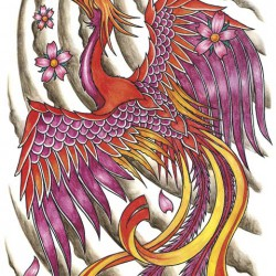 The phoenix tattoo