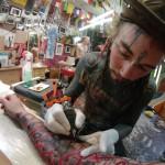 Marc Little Swastika 150x150 Tattoo artist gallery: Marc – Little Swastika