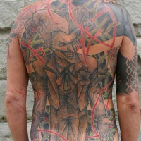 Marc tattoo17 200x200 Tattoo Artist gallery: Marc   Little Swastika