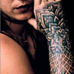 Tatuaggi decorativi - fiori orientali