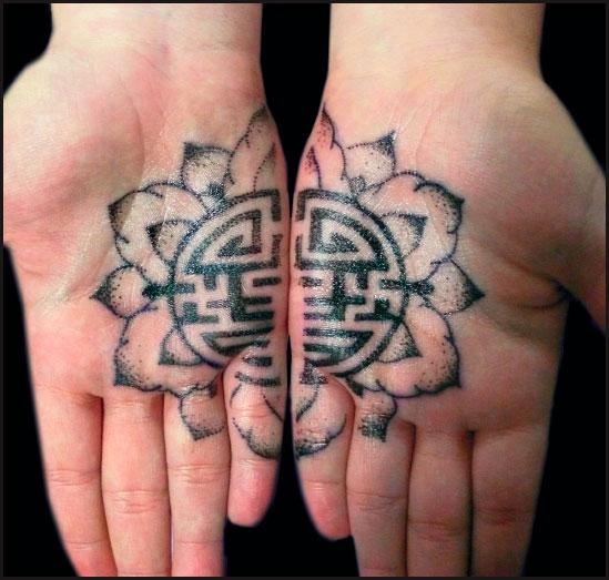 decoration tattoo frower Decoration Tattoo   Oriental Flower