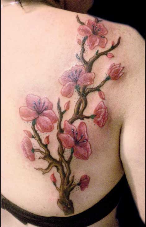 tatuaggio fiori di ciliegio Fiori di ciliegio tattoo